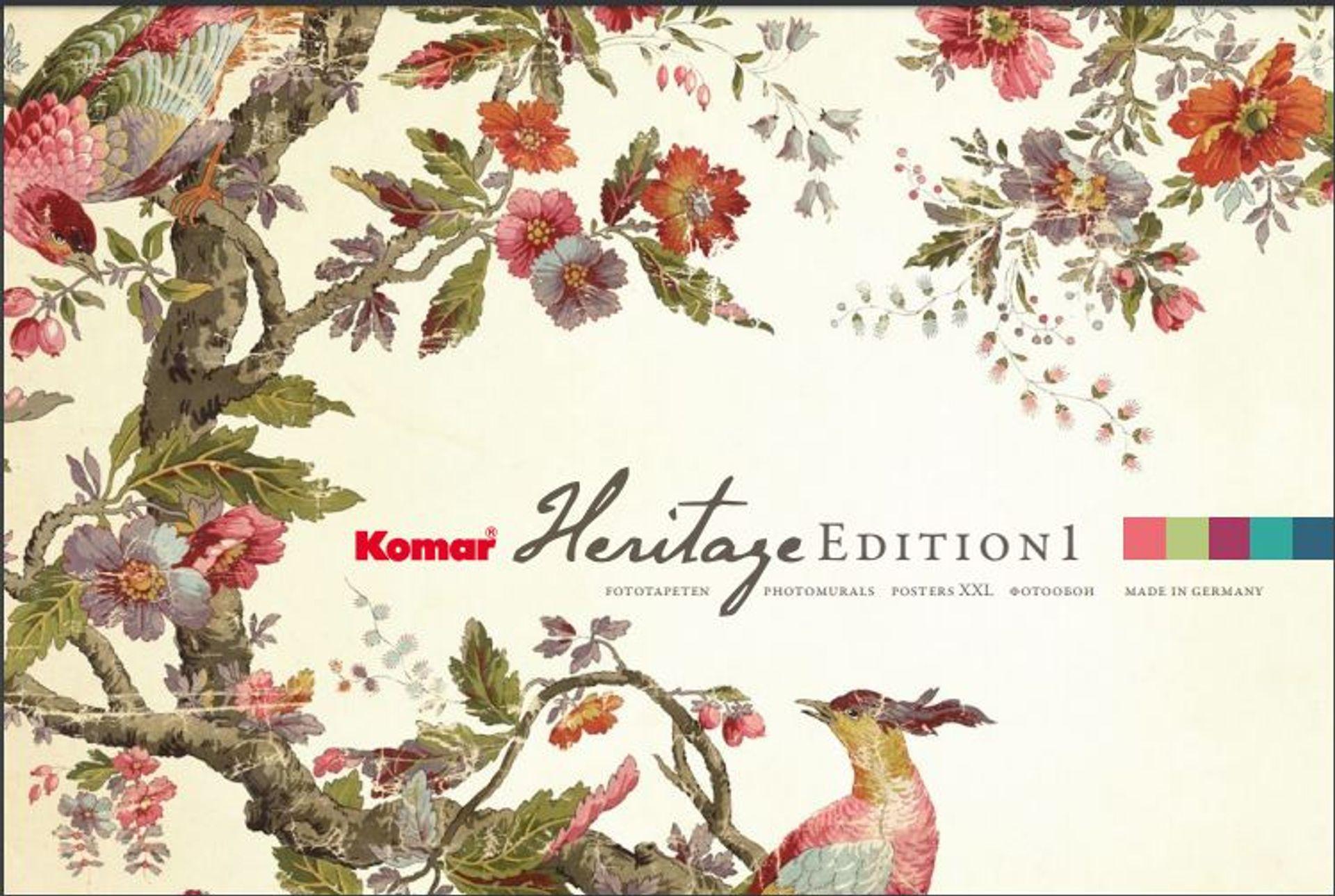 """Komar fototapetų kolekcija """"Heritage Edition 1"""""""